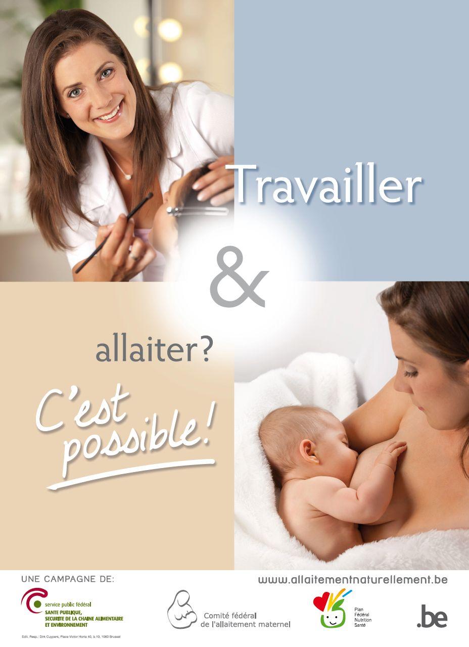 Affiche de la semaine de l'allaitement maternel de 2012