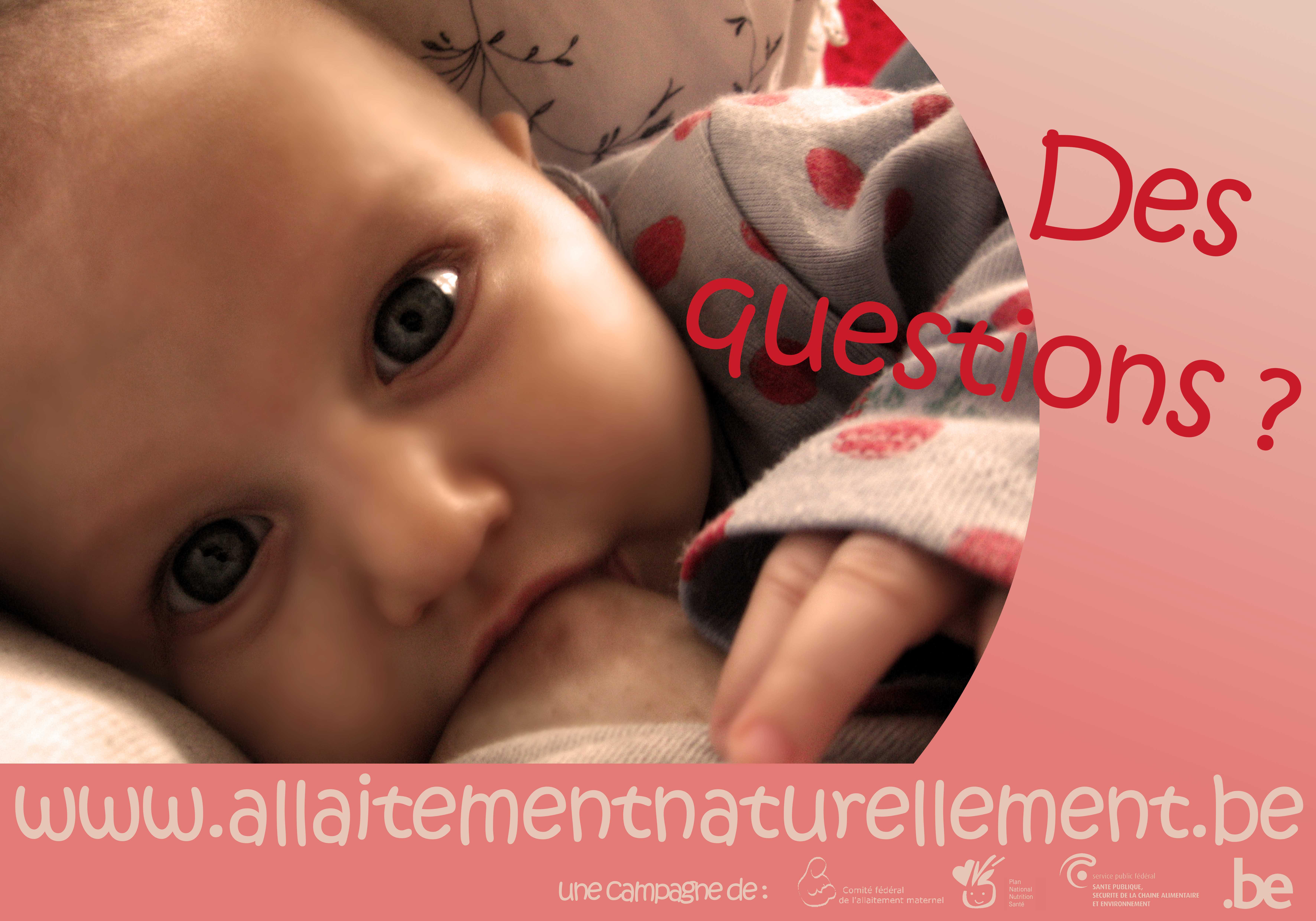 Affiche de la semaine de l'allaitement maternel de 2011