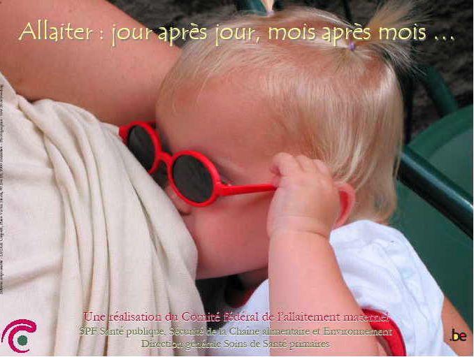 Affiche de la semaine de l'allaitement maternel de 2005