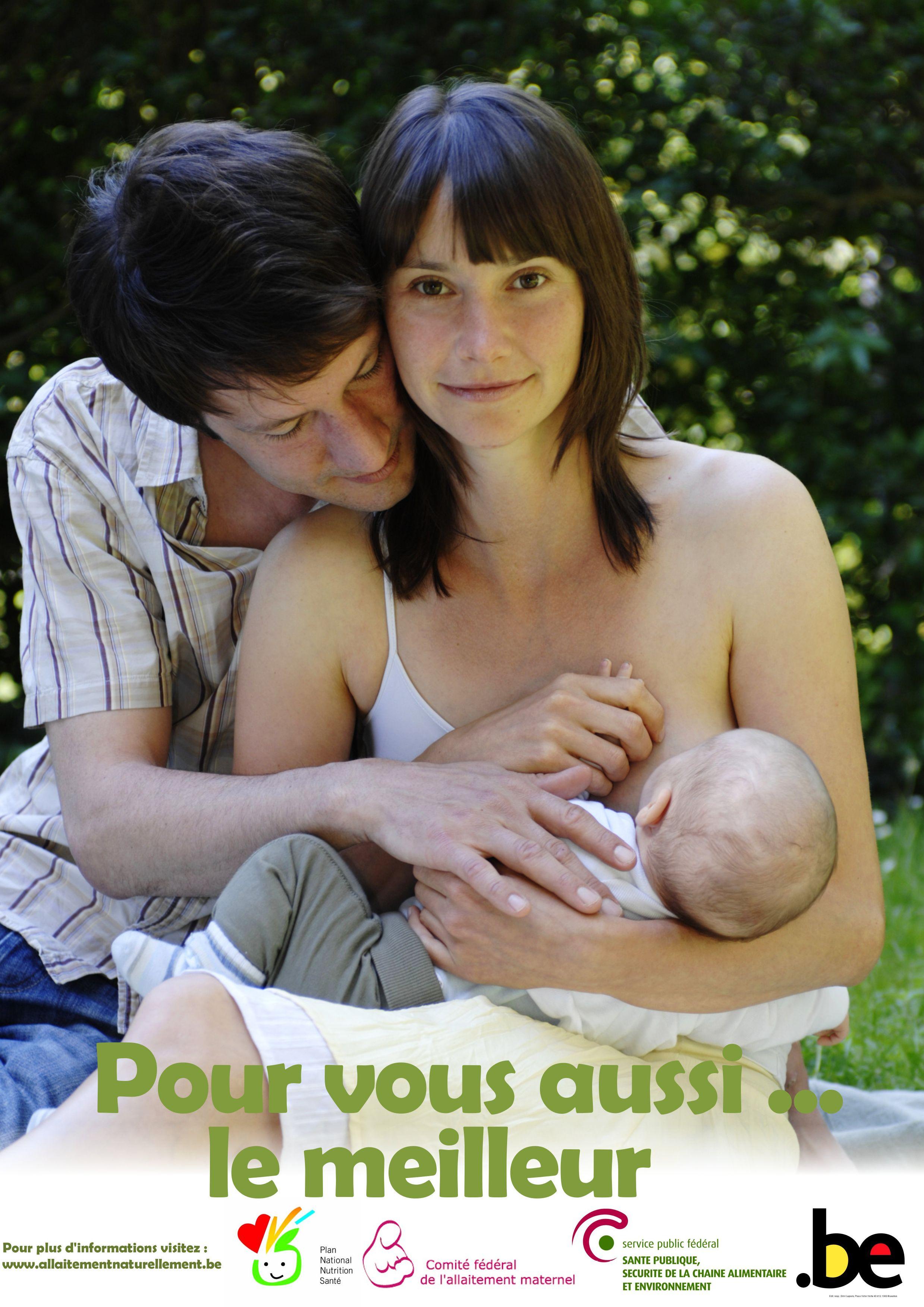 Affiche de la semaine de l'allaitement maternel de 2010