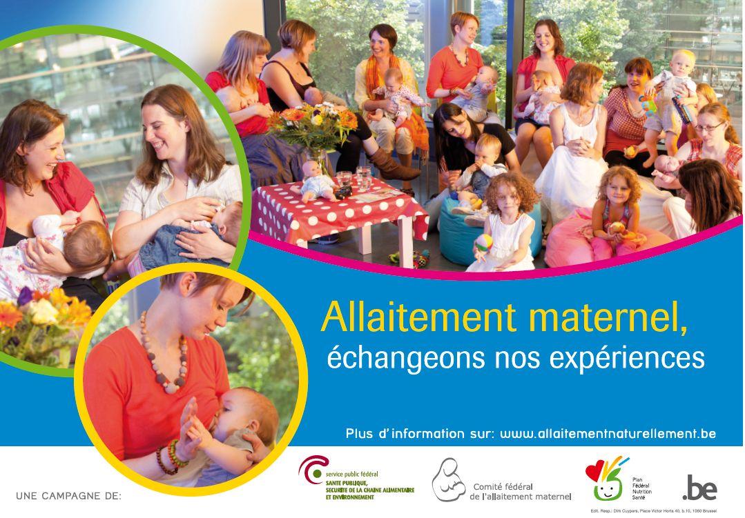 Affiche de la semaine de l'allaitement maternel de 2013