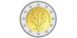 Picture International year of plant health 2020 - Copyright Royal Mint of Belgium